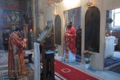 Parintele Ieromonah Antim - Sfanta Liturghie oficiata in Biserica Constantin Brancoveanu - Berceni